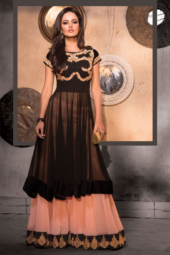 Latest Party Wear & Fancy Wedding Frock Designs Collection 2016-2017 (22)