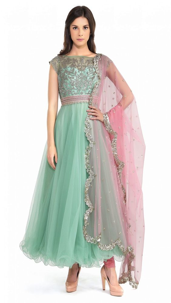 Latest Party Wear & Fancy Wedding Frock Designs Collection 2016-2017 (27)