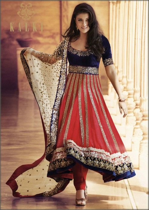 Latest Party Wear & Fancy Wedding Frock Designs Collection 2016-2017 (28)