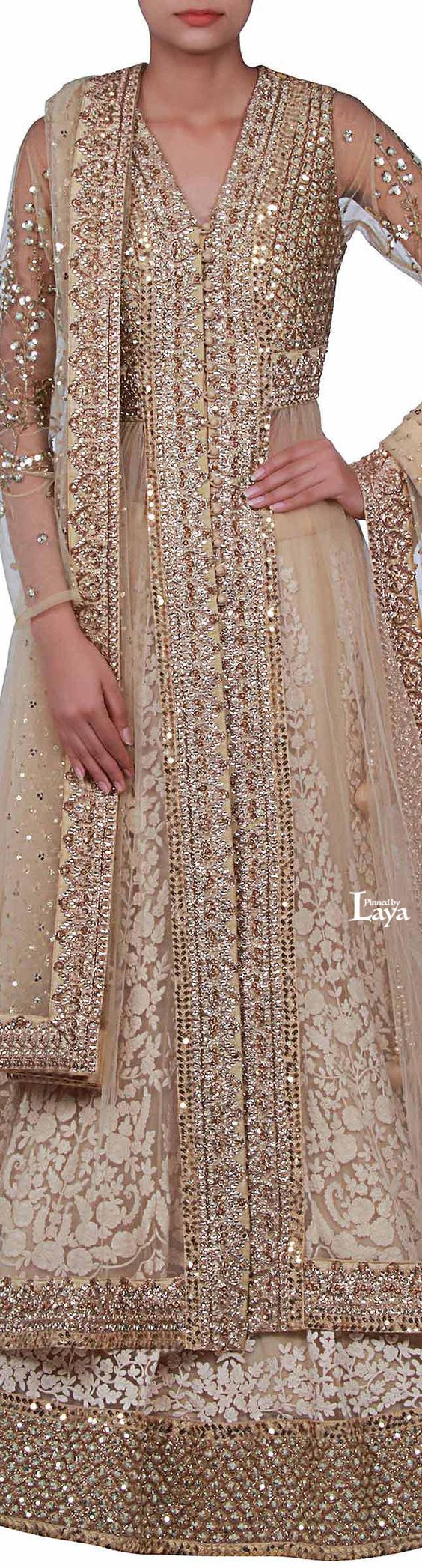 Latest Party Wear & Fancy Wedding Frock Designs Collection 2016-2017 (29)