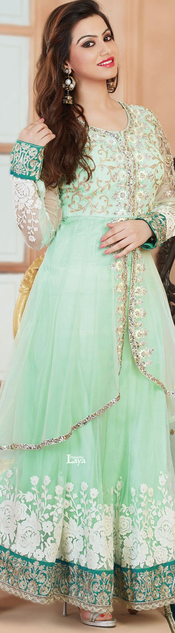 Latest Party Wear & Fancy Wedding Frock Designs Collection 2016-2017 (4)