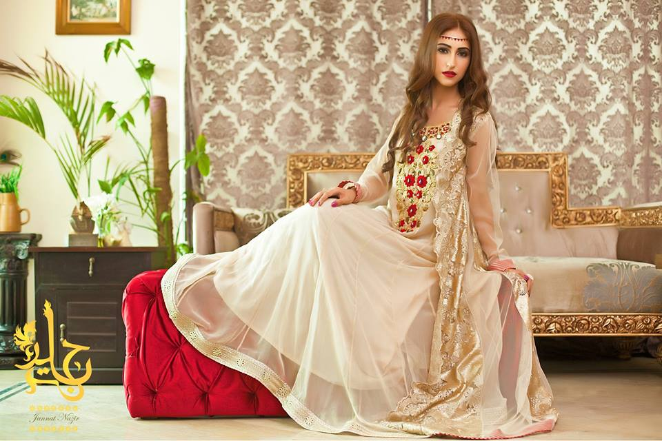 Latest Party Wear & Fancy Wedding Frock Designs Collection 2016-2017 (40)