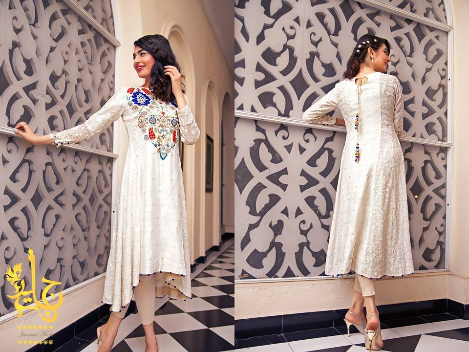 Latest Party Wear & Fancy Wedding Frock Designs Collection 2016-2017 (41)