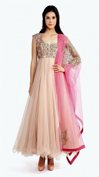 Latest Party Wear & Fancy Wedding Frock Designs Collection 2016-2017 (44)