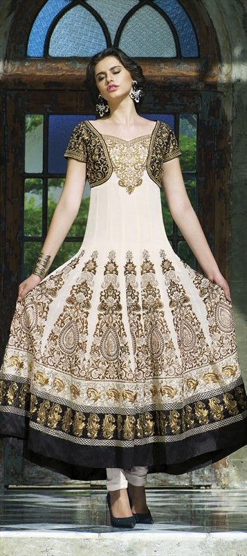 Latest Party Wear & Fancy Wedding Frock Designs Collection 2016-2017 (45)