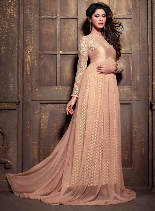 Latest Party Wear & Fancy Wedding Frock Designs Collection 2016-2017 (50)