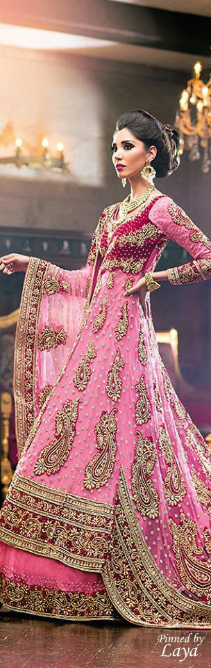 Latest Party Wear & Fancy Wedding Frock Designs Collection 2016-2017 (53)
