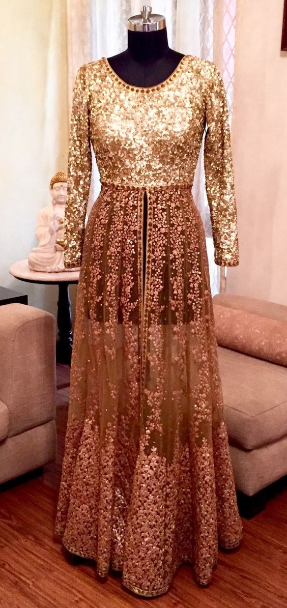 Latest Party Wear & Fancy Wedding Frock Designs Collection 2016-2017 (9)