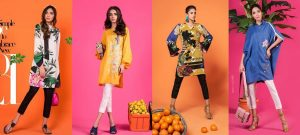 Sana Safinaz Ready to Wear Summer Dresses Collection 2018