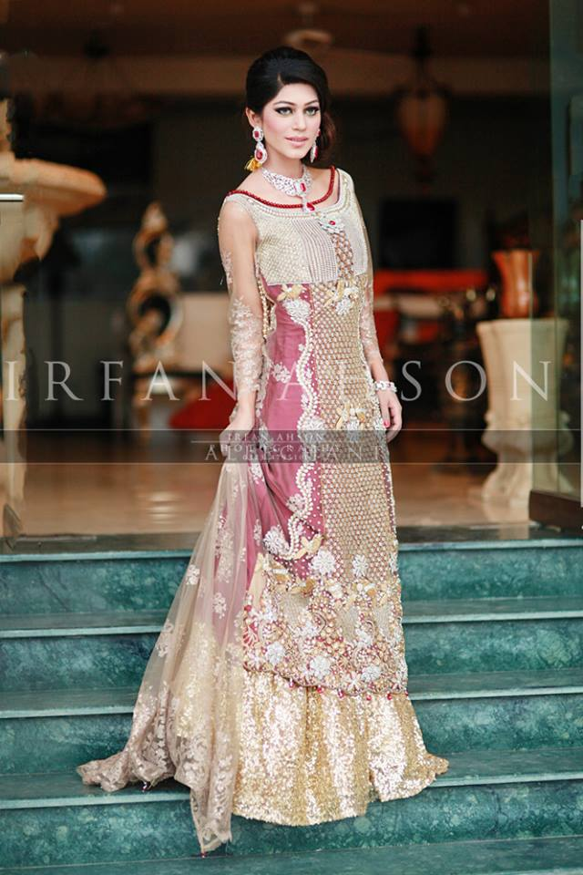 Latest Wedding Maxis Long Tale Dresses Designs Collection 2016-2017 (33)