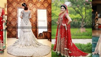Latest Wedding Maxis Long Tale Dresses Designs Collection 2016-2017