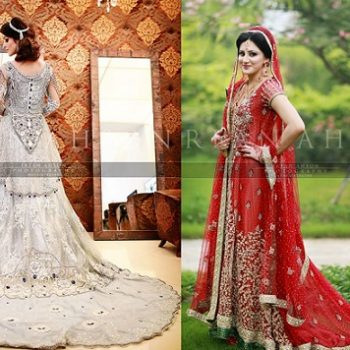 Latest Wedding Maxis Long Tail Dresses Designs 2018-2019 Collection