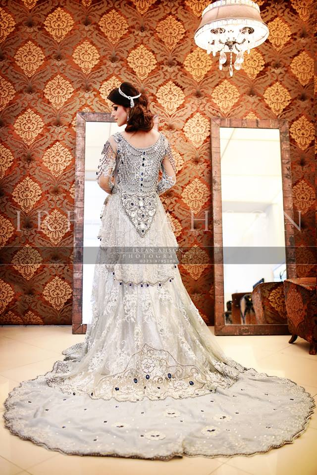 Latest Wedding Maxis Long Tale Dresses Designs Collection 2016-2017 (39)