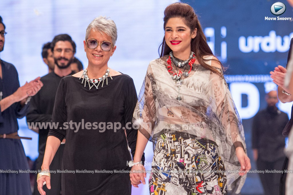 AYESHA OMER- Showstopper in fashion week Pakistan 2016-2017  (2)