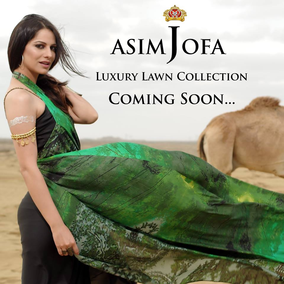 Asim Jofa Summer Luxury Lawn Collection 2016- Behind the Shoot (13)