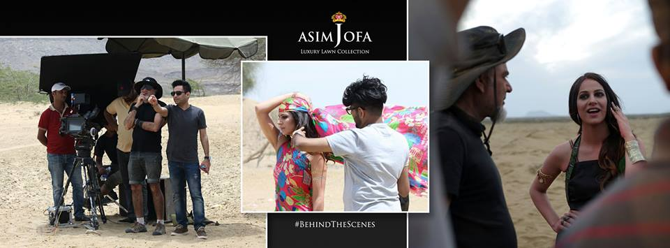 Asim Jofa Summer Luxury Lawn Collection 2016- Behind the Shoot (14)