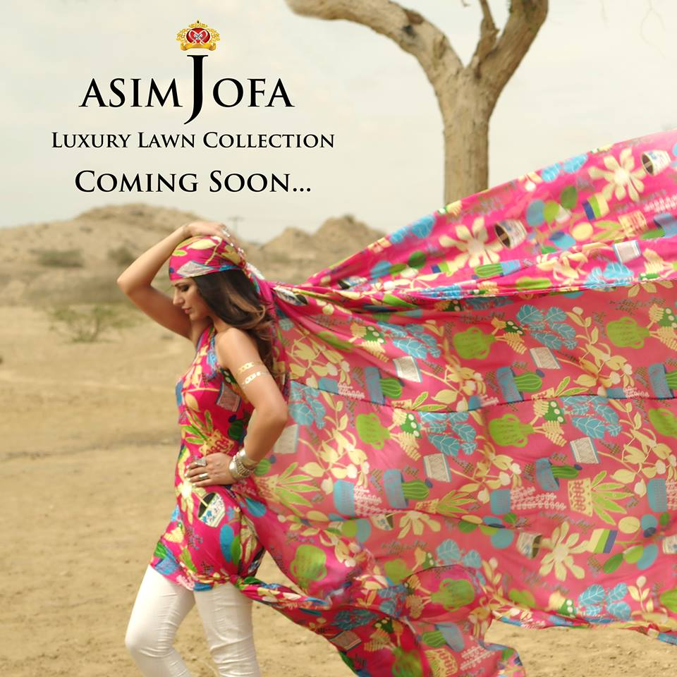 Asim Jofa Summer Luxury Lawn Collection 2016- Behind the Shoot (15)