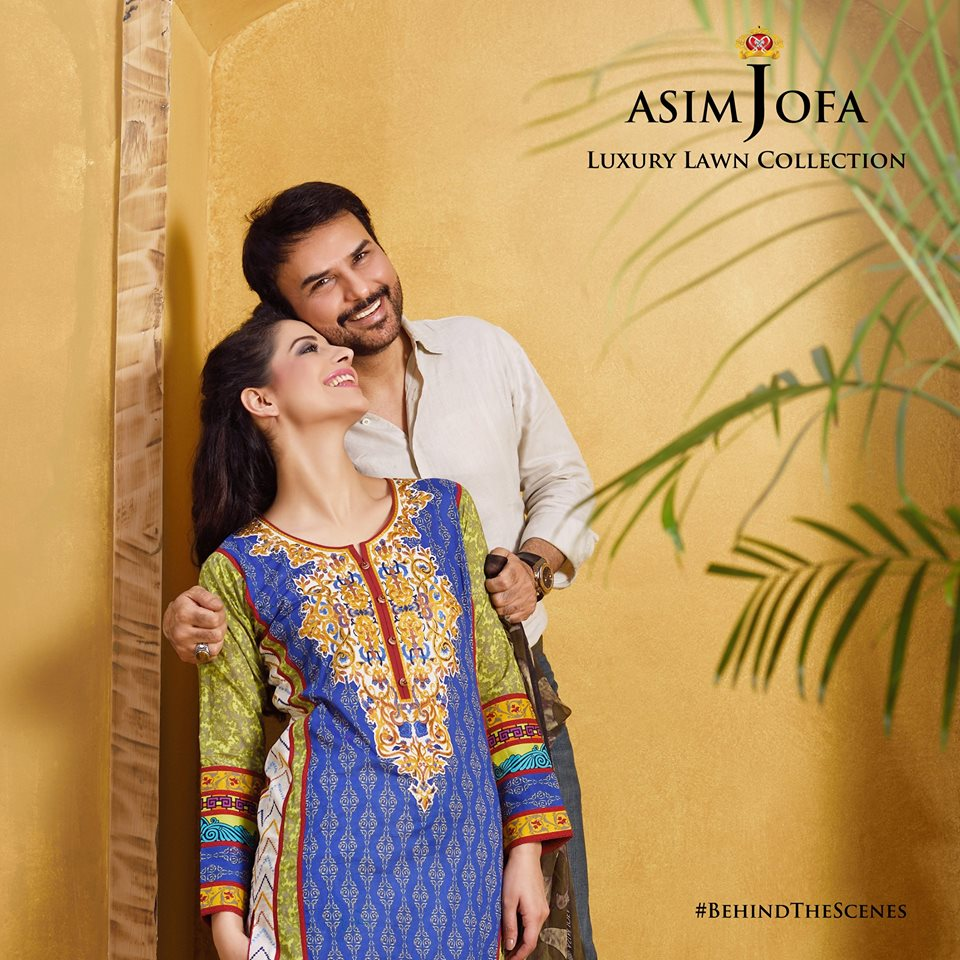 Asim Jofa Summer Luxury Lawn Collection 2016- Behind the Shoot (17)