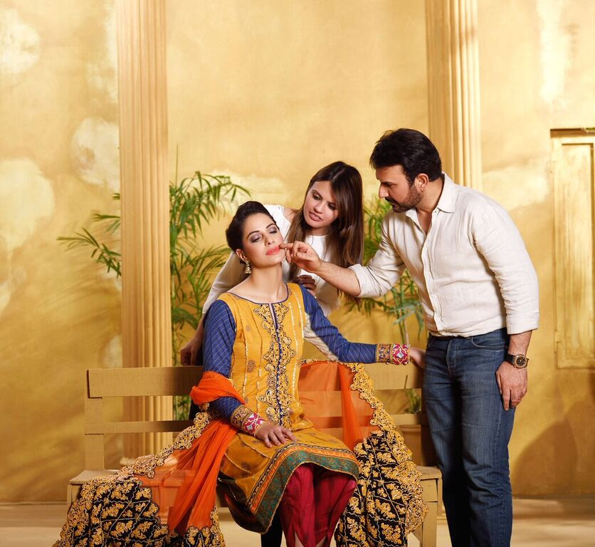 Asim Jofa Summer Luxury Lawn Collection 2016- Behind the Shoot (4)