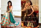 Ayesha Ahmed Formals Party Wear Dresses Designs 2016-2017 Collection