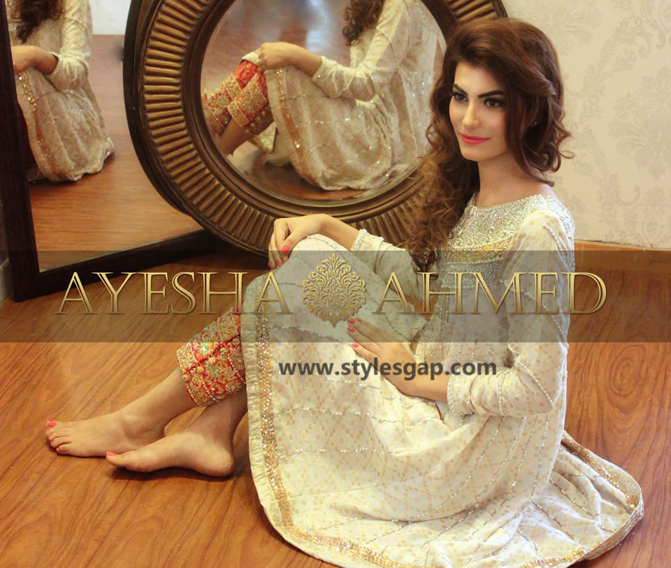 Ayesha Ahmed Formals Party Wear Dresses Designs 2016-2017 Collection (26)