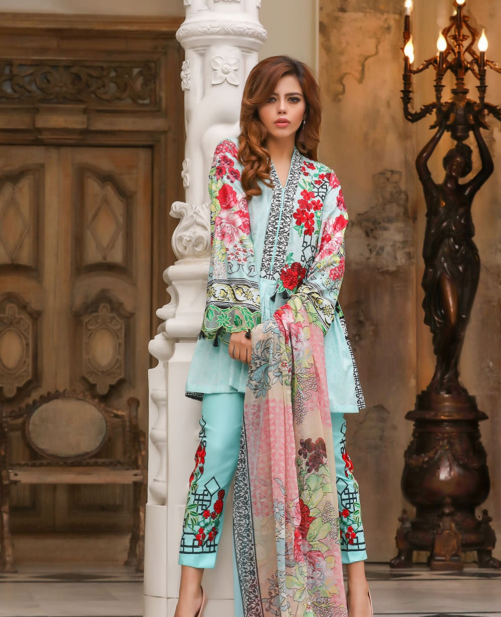 House Of Ittehad Spring Summer Lawn Suits Collection 2018 2019