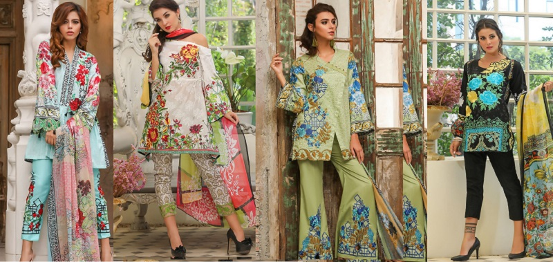 Fancy House of Ittehad Summer Lawn Suits Collection 2018-2019