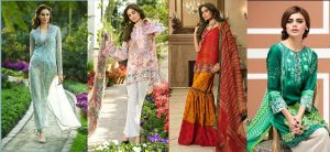 House of Ittehad Spring Summer Lawn Collection 2016-2017