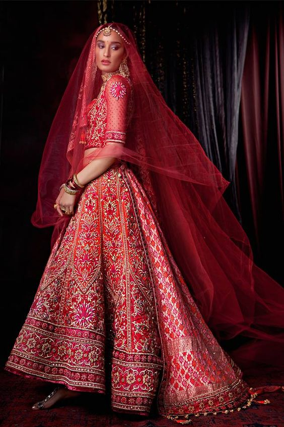 Indian Designer Bridal Dresses Wedding Trends 2016-2017 Collection (22)