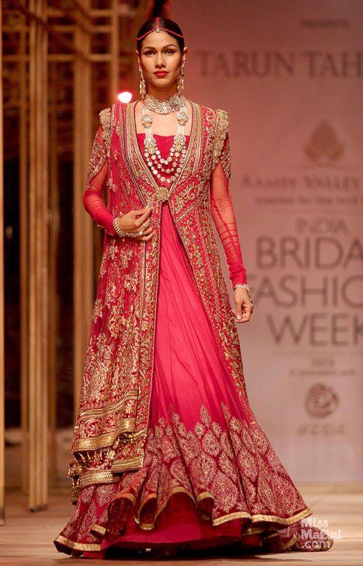 Indian Designer Bridal Dresses 2017 Amore Wedding
