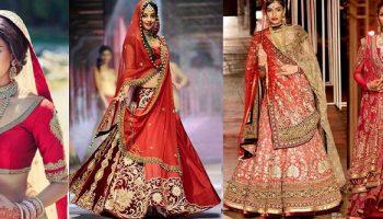 Indian Designer Bridal Dresses Wedding Trends 2016-2017 Collection