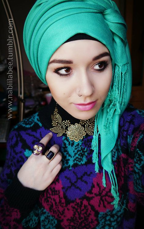 Latest Summer Hijab Trends & Fashion 2016-2017 (12)