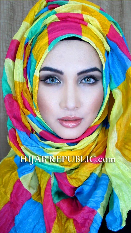 Latest Summer Hijab Trends & Fashion 2016-2017 (23)