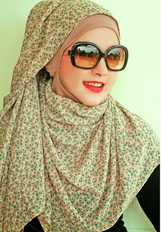 Latest Fashion Summer Hijab Styles & Designs 2018-2019
