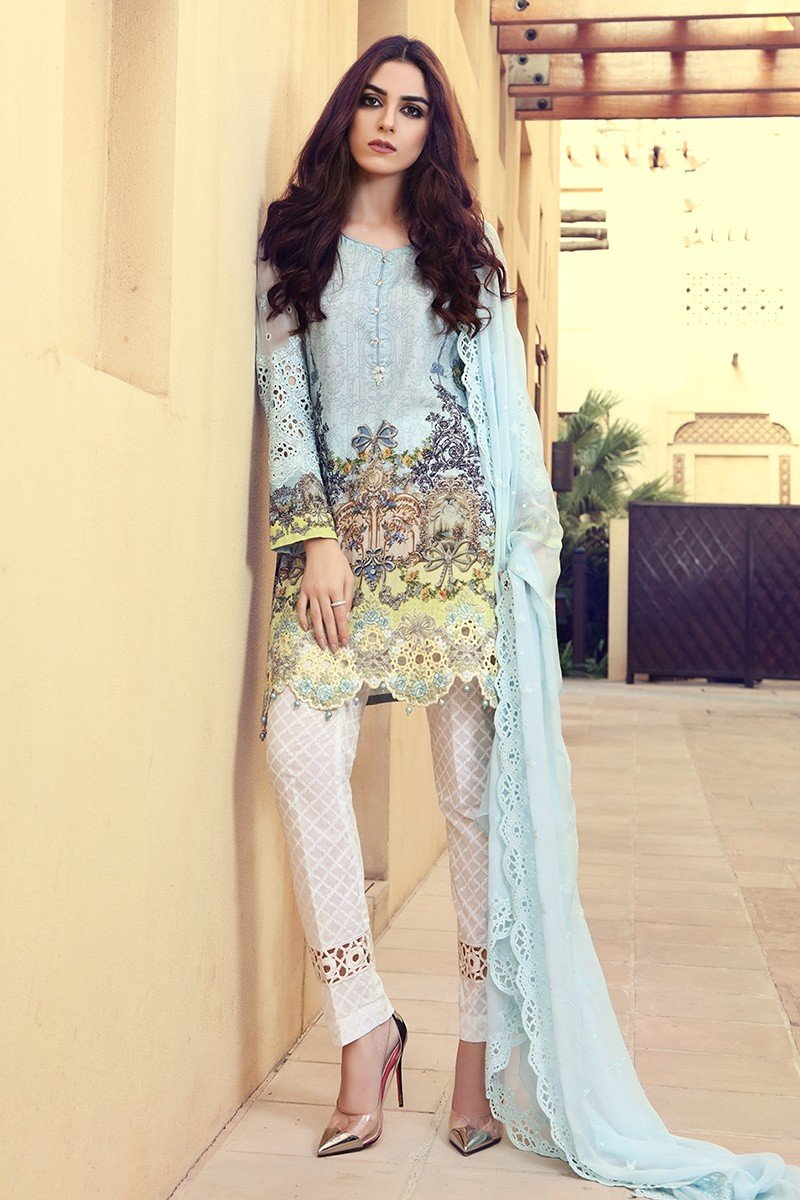 pakistani designer summer dresses 2017 - photo #17
