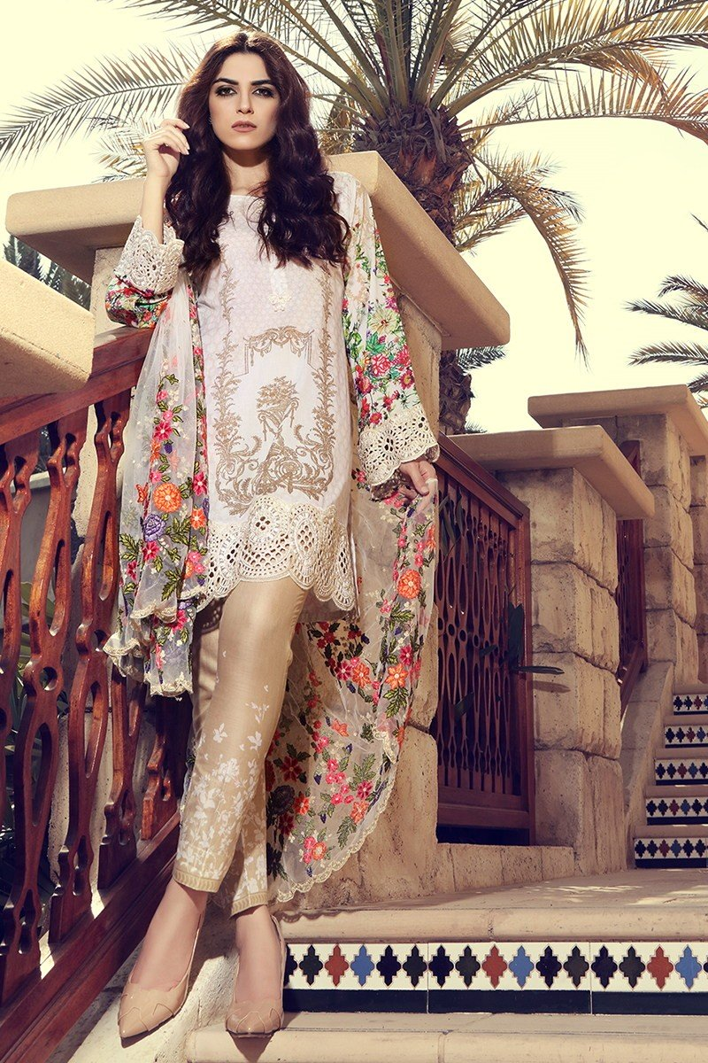 Maria B Lawn Collection 2017 Best Pakistani Designer: pakistani fashion designers