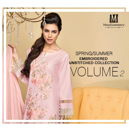 Mausummery Best Lawn Dresses Spring Summer 2016-2017 Collection (1)