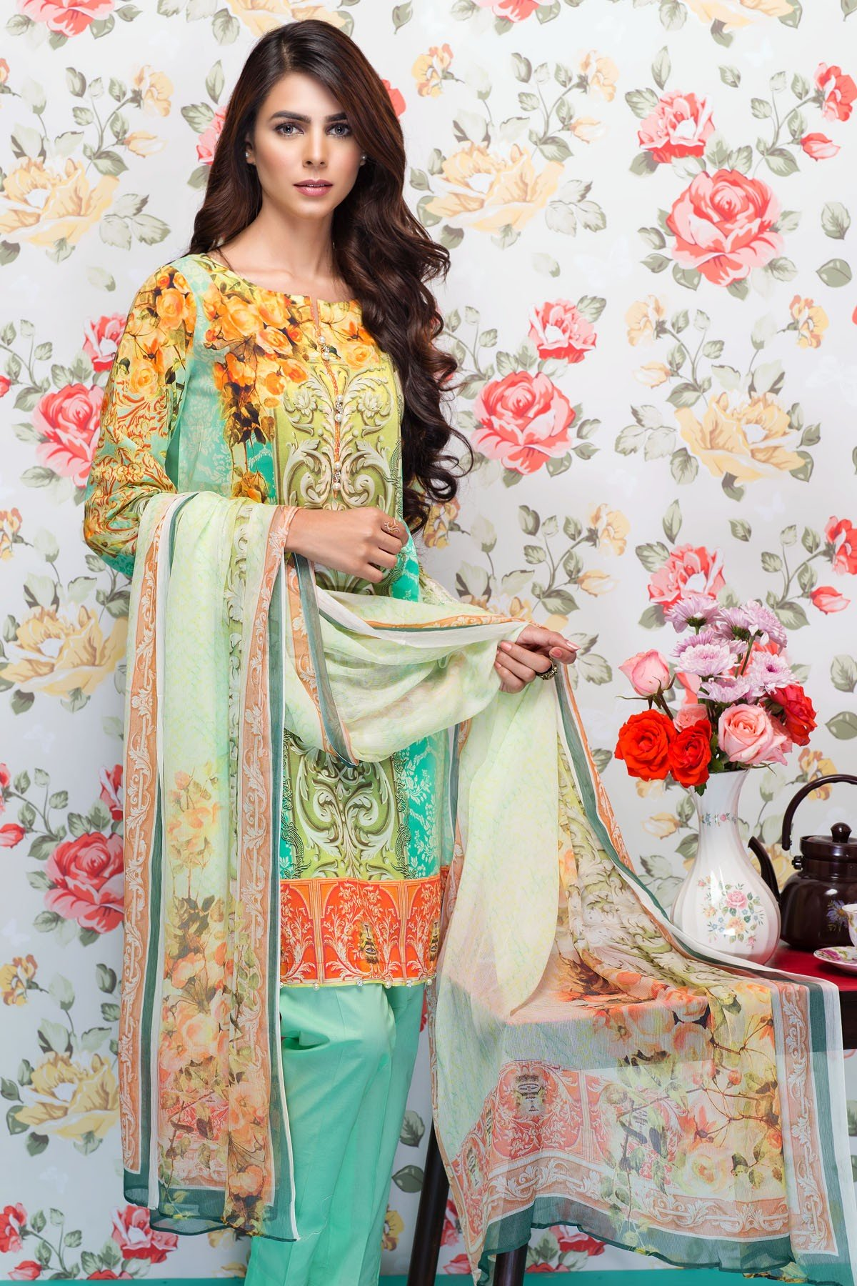 Mausummery Best Lawn Dresses Spring Summer 2016-2017 Collection (10)