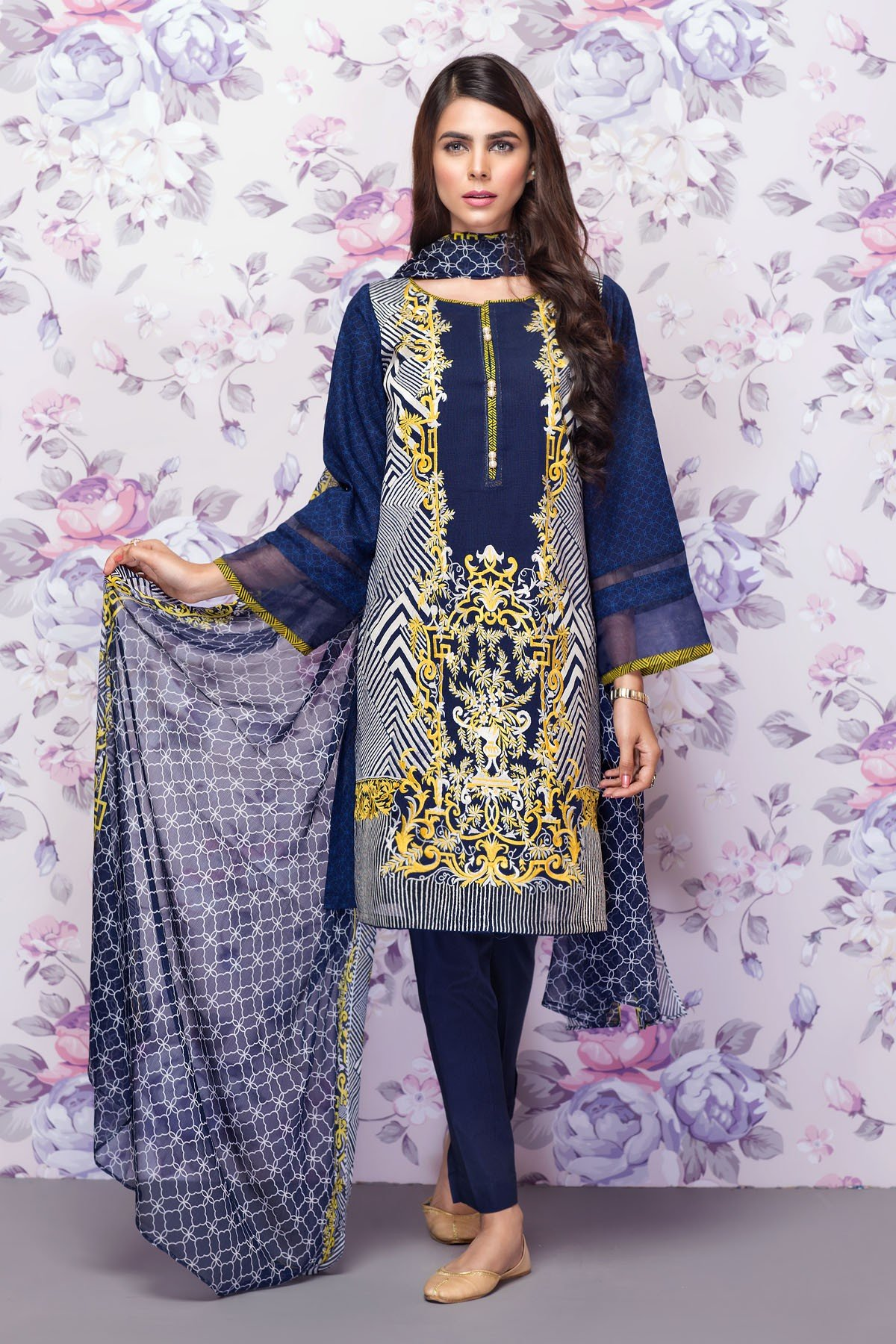 Mausummery Best Lawn Dresses Spring Summer 2016-2017 Collection (11)