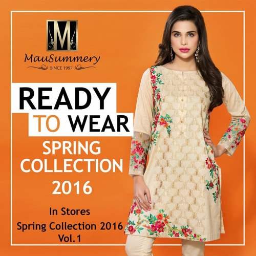 Mausummery Best Lawn Dresses Spring Summer 2016-2017 Collection (14)