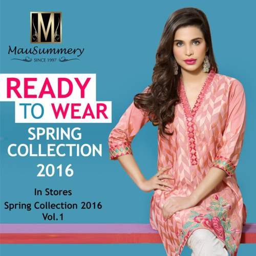 Mausummery Best Lawn Dresses Spring Summer 2016-2017 Collection (15)