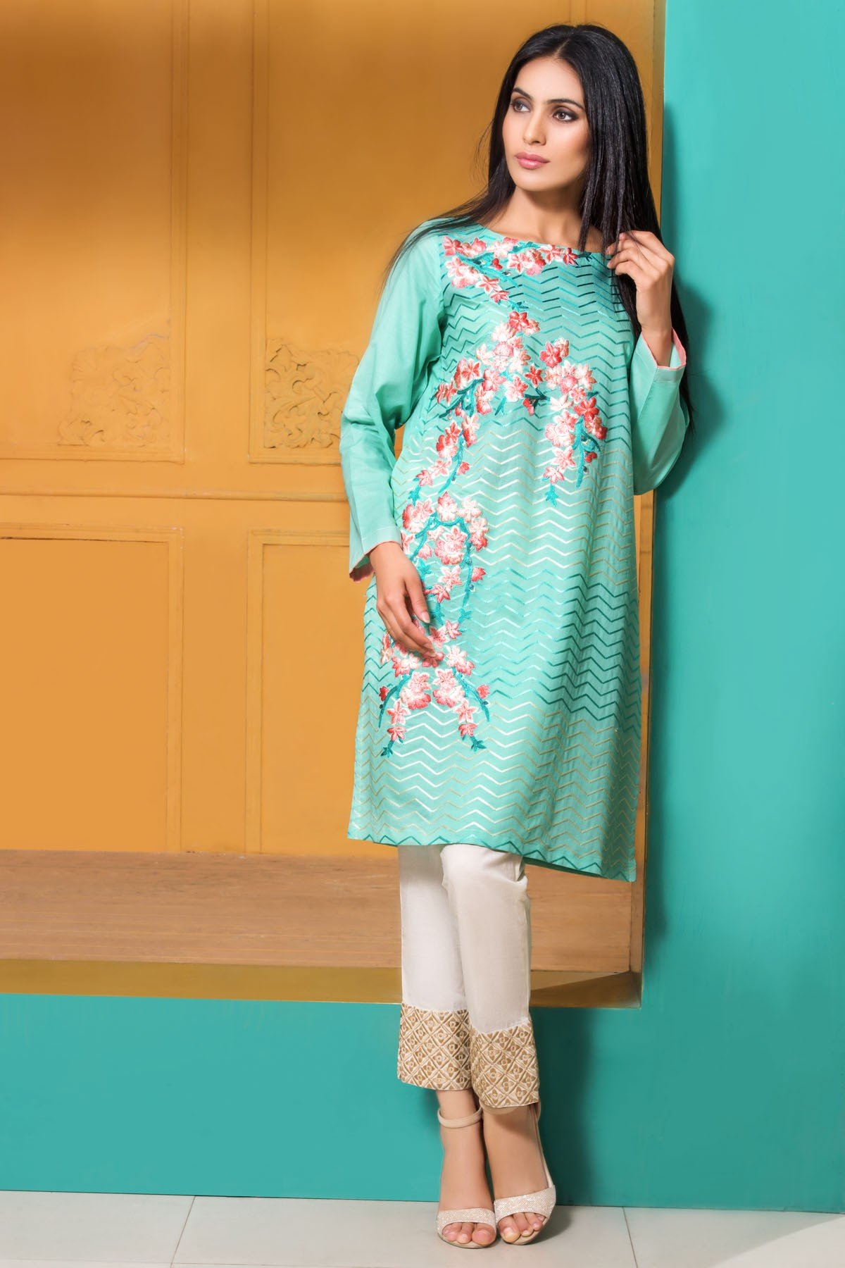 Mausummery Best Lawn Dresses Spring Summer 2016-2017 Collection (16)