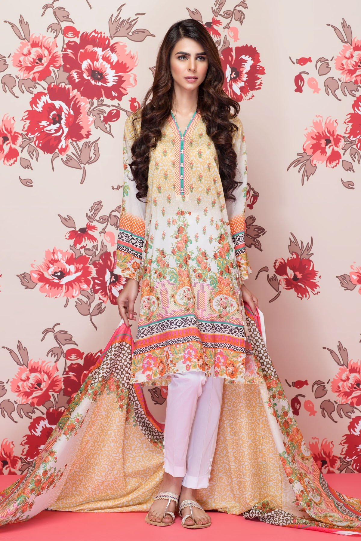 Mausummery Best Lawn Dresses Spring Summer 2016-2017 Collection (18)