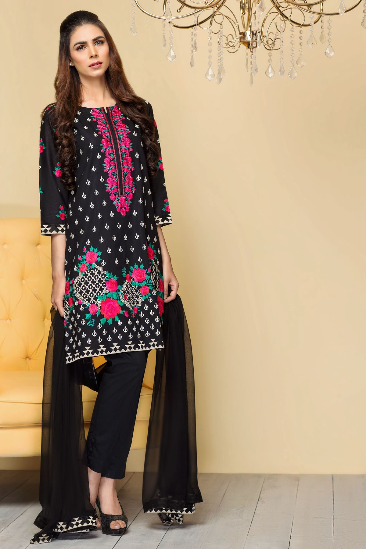 Mausummery Best Lawn Dresses Spring Summer 2016-2017 Collection (2)