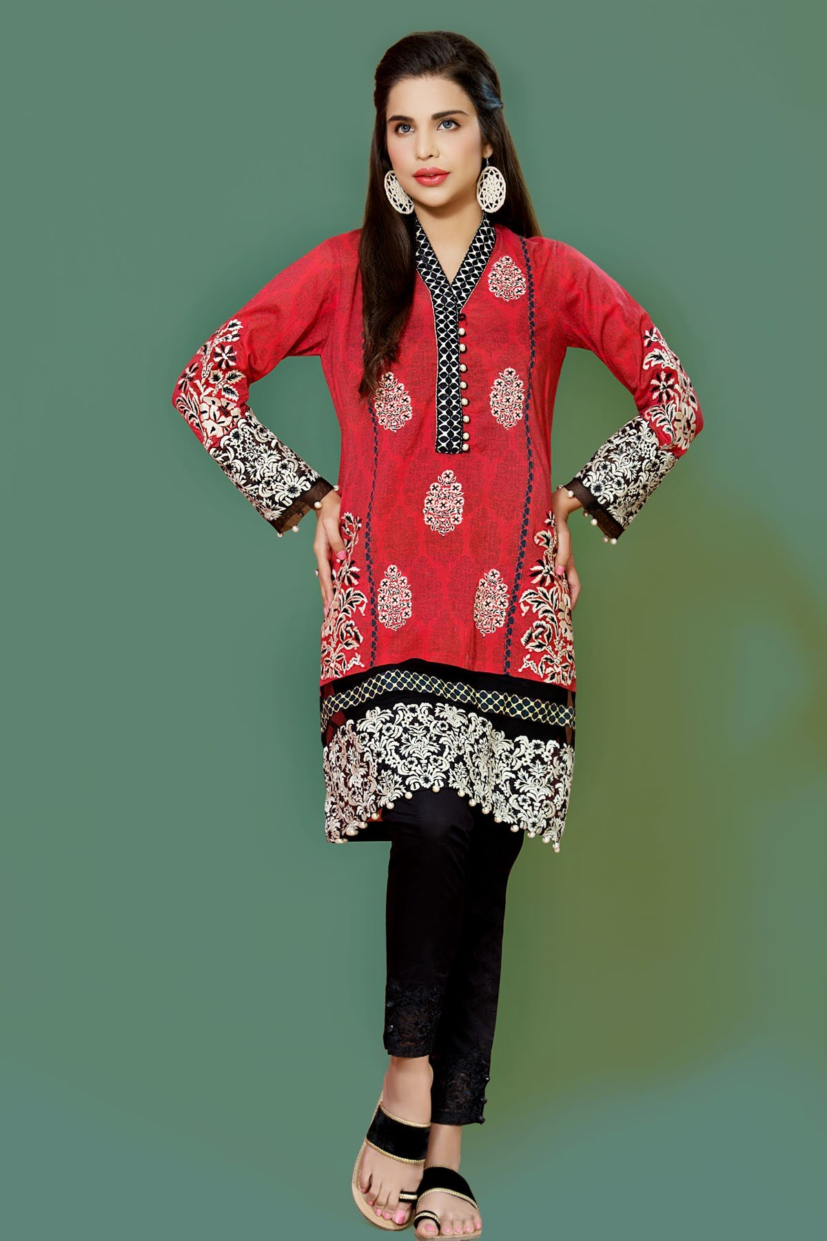 Mausummery Best Lawn Dresses Spring Summer 2016-2017 Collection (3)