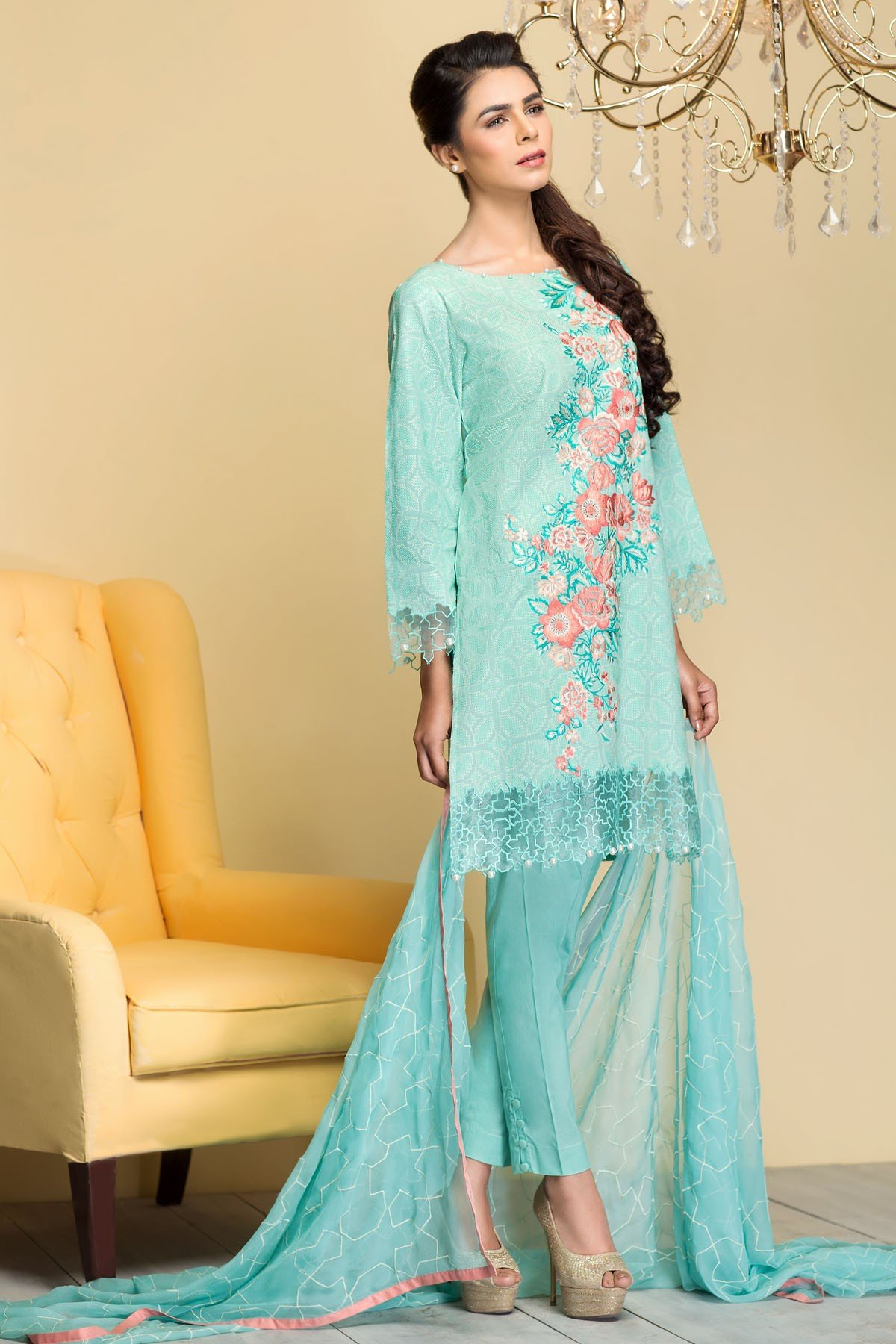 Mausummery Best Lawn Dresses Spring Summer 2016-2017 Collection (4)
