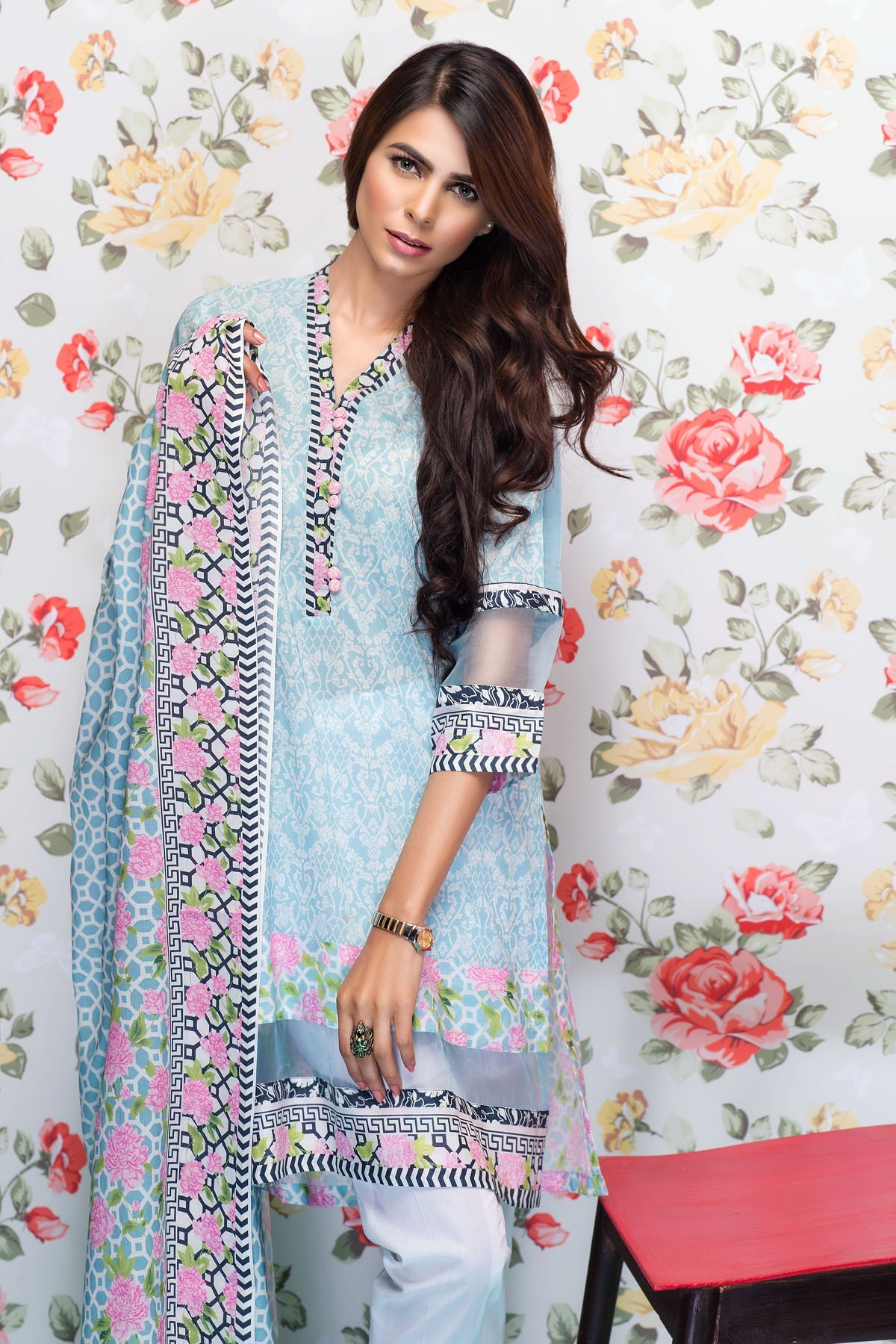 Mausummery Best Lawn Dresses Spring Summer 2016-2017 Collection (6)