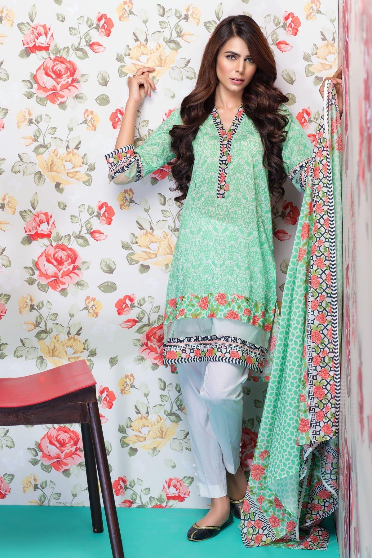 Mausummery Best Lawn Dresses Spring Summer 2016-2017 Collection (7)