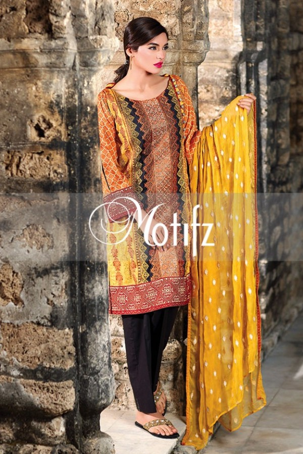 Motifz Summer Embroidered Lawn Dresses Collection 2016-2017 (10)