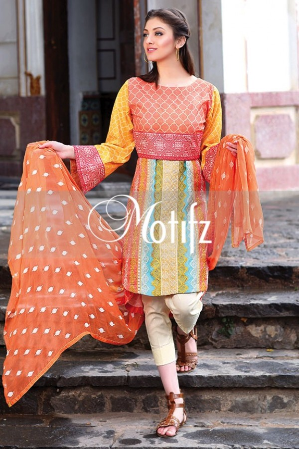 Motifz Summer Embroidered Lawn Dresses Collection 2016-2017 (11)